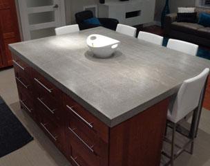 revocrete avez vous pens au b ton pour vos comptoirs de cuisine gatineau. Black Bedroom Furniture Sets. Home Design Ideas