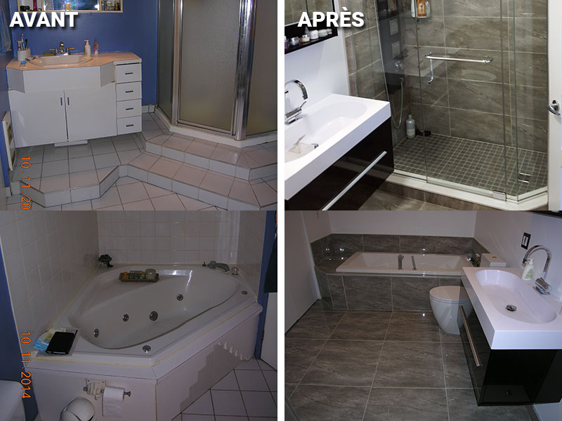 R novations richard bernier entrepreneur en r novation for Renovation salle de bain laval